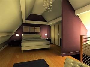 Modele Deco Chambre : deco chambre parentale ~ Teatrodelosmanantiales.com Idées de Décoration