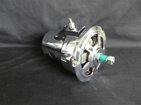 Vw Alternator Beetle Kombi Bug 75 Amp Type 1 And 2 Chrome