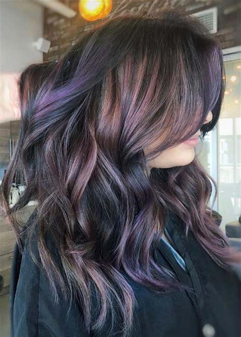 pretty chocolate mauve hair colors ideas  inspire