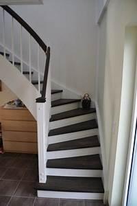 Offene Holztreppe Renovieren : treppenhausgestaltung eingangsbereich mit flur und treppe ideen rund ums haus pinterest ~ Fotosdekora.club Haus und Dekorationen