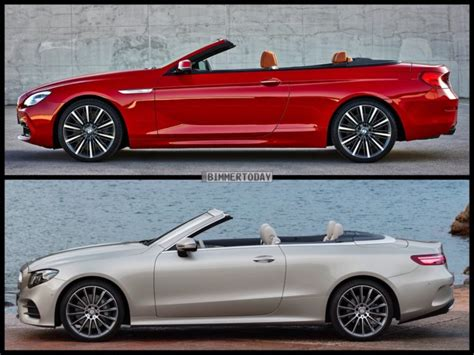 Photo Comparison: BMW 6 Series vs Mercedes-Benz E-Class ...