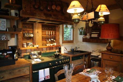 cuisine style chalet photo cuisine et chalet déco photo deco fr
