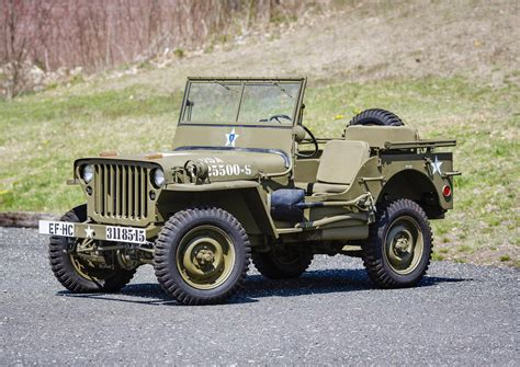 wwii jeep willys 1944 willys mb auction photo gallery autoblog