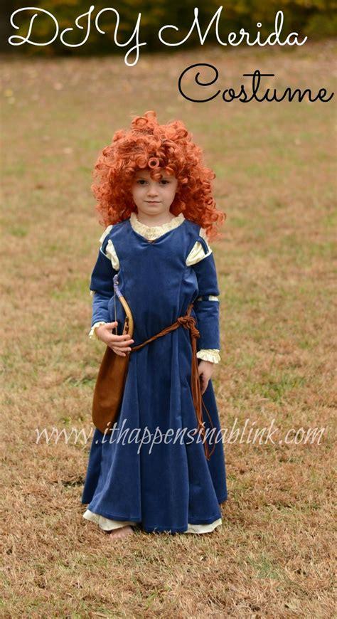 Disney Brave Merida Costume with Simplicity Pattern 1557