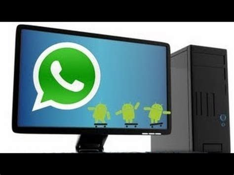 how to install whatsapp on pc laptop windows 7 8 xp vista mac 100 working method