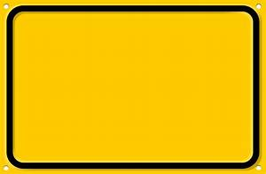 Road Sign Warning Blank - ClipArt Best