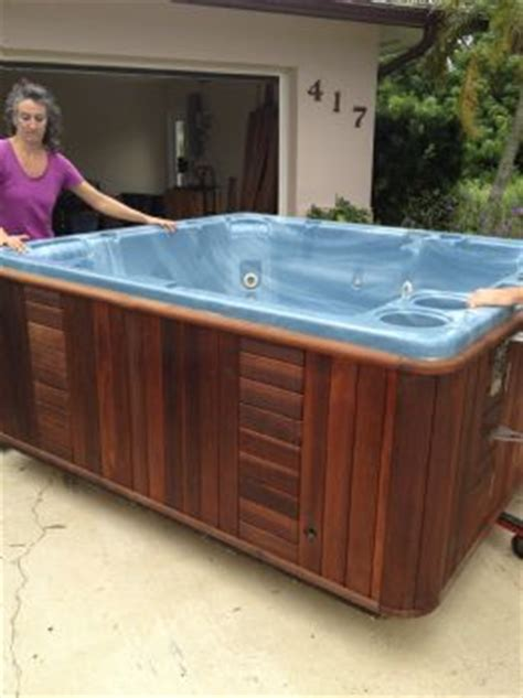 tub in garage q how do two move a tub