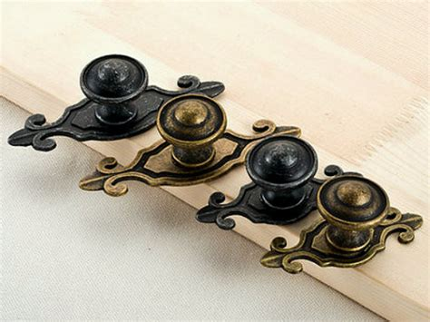 Black Dresser Drawer Knobs by Antique Black Bronze Dresser Knobs Drawer Knob Pulls Handles