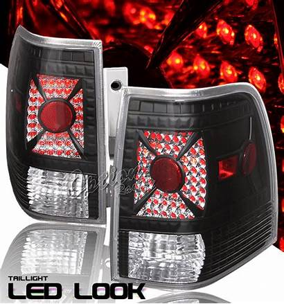 Expedition Ford Tail Lights Led 2003 2006