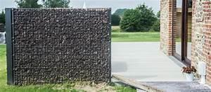 Mur De Cloture En Gabion : gabion terrasse je comptais disposer les gabions xx de a ~ Edinachiropracticcenter.com Idées de Décoration