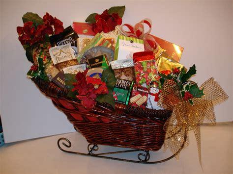 christmas gift basket decoration ideas