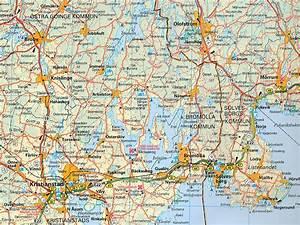 Wegenkaart - landkaart 3 Süd-Schweden ost - Zuidoost
