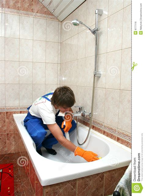 professional cleaning royalty  stock image image