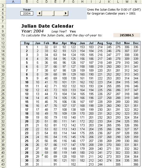 image result day year calendar spreadsheet