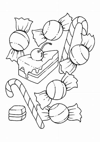 Coloring Pages Candy Printable
