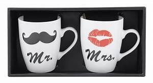 Tasse Mr Mrs : action 2 mugs mr mrs pas chers ~ Teatrodelosmanantiales.com Idées de Décoration