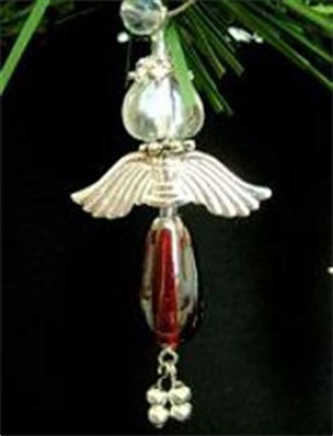 beaded angel ornament allfreechristmascraftscom