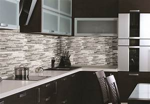lowes mosaic tile backsplash roselawnlutheran With kitchen cabinets lowes with metal wall art silver