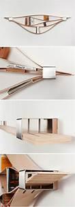 Etagere Bois Design : l tag re biblioth que comment choisir le bon design ~ Teatrodelosmanantiales.com Idées de Décoration