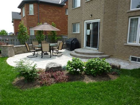 backyard patio ferdian beuh small yard landscaping ideas 70th
