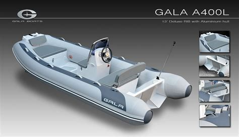 siege semi rigide semi rigide gala 360 400 coque aluminium à port camargue
