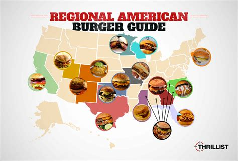 cuisine by region the 16 essential regional burger styles in america huffpost