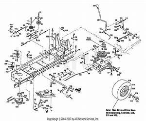 Troy Bilt 13034 13hp Gear Drive Tractor  S  N 130340100101