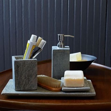 Cheap Modern Bathroom Accessories by These Slate Bathroom Accessories Apartment Stuffs