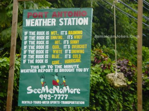 weather station sign jokes  nigeria