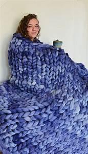 Chunky Knit Decke : die besten 25 grob gestrickte decke ideen auf pinterest ~ Whattoseeinmadrid.com Haus und Dekorationen