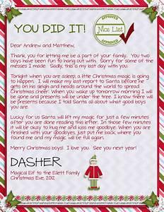 15 helpful elf on the shelf goodbye letters for Goodbye letter from elf on the shelf template