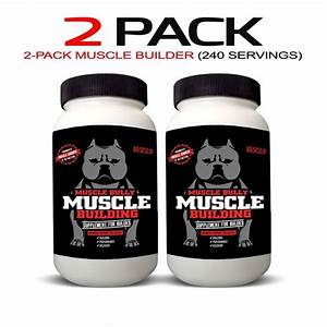 Muscle Building Supplement For Bullies  120 Tablets  Help Build Muscle On Dogs  Safe And V