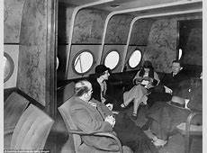 See pictures of 1920s Dornier DoX the most luxurious