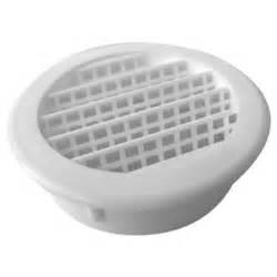 speedi products 2 in white round soffit vent sm rsv 2