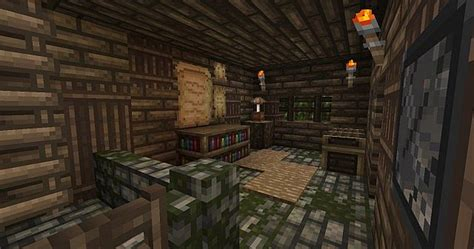 medieval herb shop minecraft project