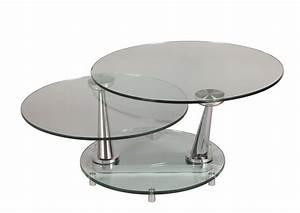 Table Basse Verre Trempé : acheter votre belle table basse moderne plateau verre tremp chez simeuble ~ Teatrodelosmanantiales.com Idées de Décoration