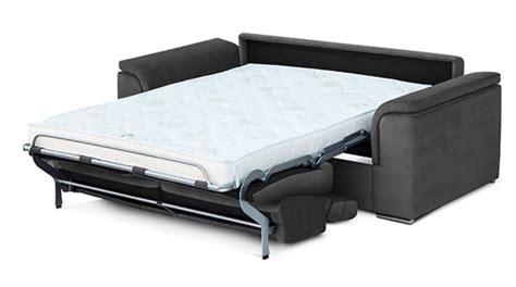 canapé convertible couchage régulier canape convertible avec couchage en 160 antigua gris