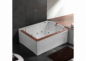 Baignoire Balneo 2 Personnes : baignoire baln o 2 places rectangulaire grande baignoire ~ Dailycaller-alerts.com Idées de Décoration
