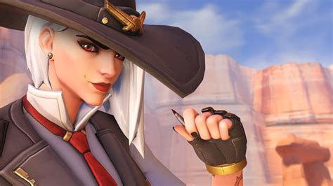 ashe overwatch  hd games  wallpapers images