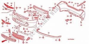 Stossfaenger F U00fcr Honda Auto Jazz 1 4 Ls 5 T U00fcren 5 Gang