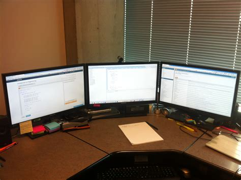 triple monitors increase productivity welcome to cstaab