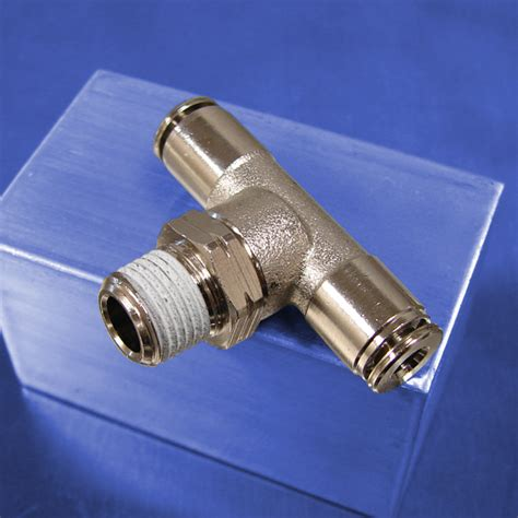tees swivel push  connect fittings pneumadyne