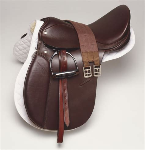 girth english horse saddle leather choosing types girths riding side synthetic dorling kindersley materials getty