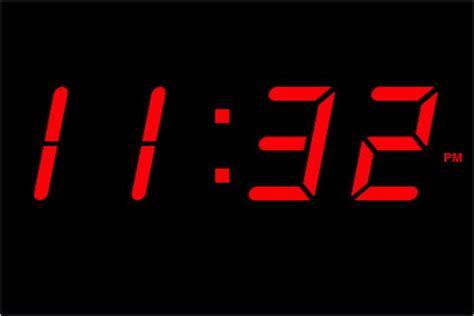digital clocks invention day