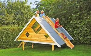 Kinder Holzhaus Garten : spielhaus mit rutsche spielhaus ~ Frokenaadalensverden.com Haus und Dekorationen