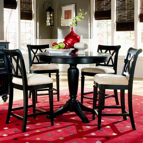 American Drew Camden  Dark Counter Height Table With