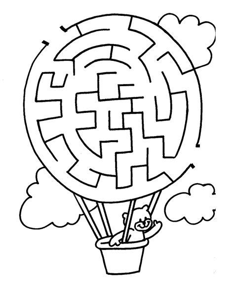 Free Maze Worksheets For Children  Activity Shelter