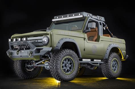 ford bronco green colors redesign release date
