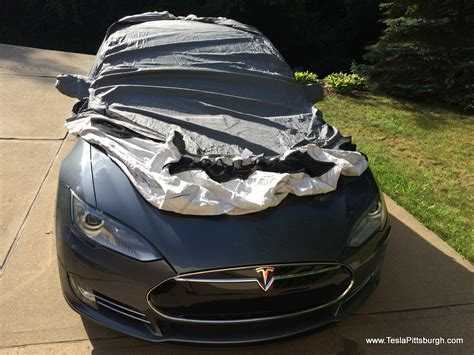 Tesla Car :  Tesla Model S Car Cover For Both Indoor And