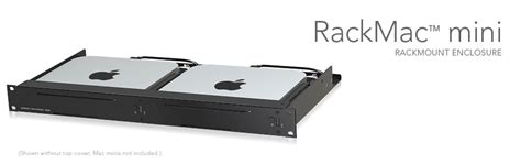 mac mini rack rackmac mini 1u rack enclosure for mac mini sonnet